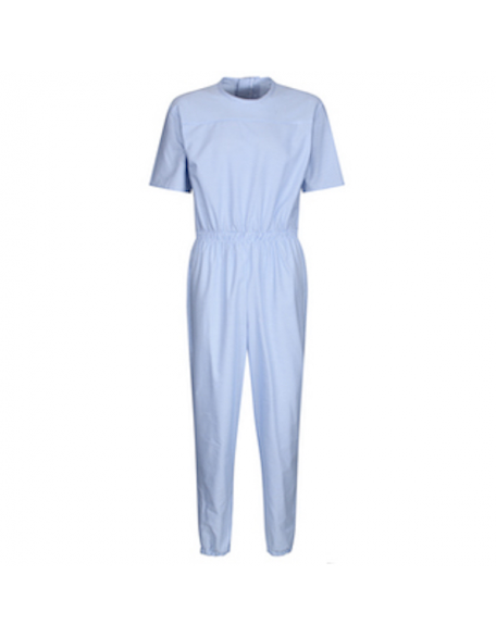 Men's Short-Sleeved Zip Back Sleepsuit